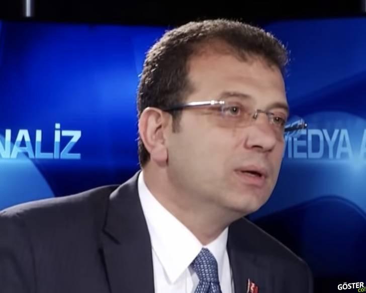 Ekrem İmamoğlu Erdoğan'ın ve Yıldırım'ın konuşmalarını izliyor ve yorumluyor