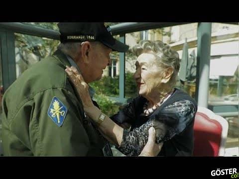 İkinci Dünya Dünya Savaşı'nda aşık olan ABD'li askerle Fransız aşkı 75 yıl sonra buluştu