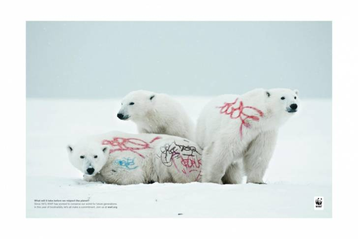 Clever Print Ad - The World Wildlife Fund