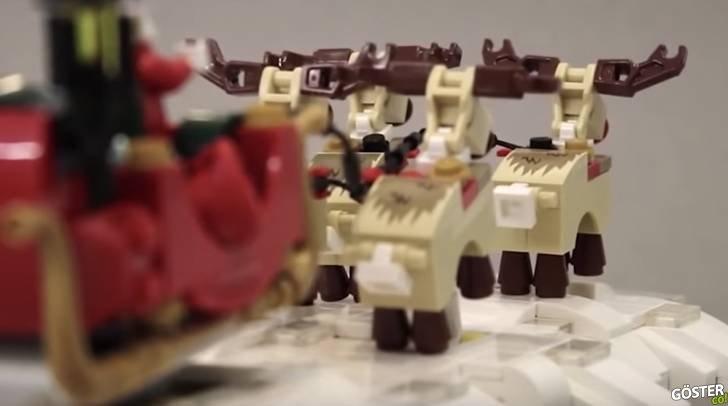 Kinetik Lego heykelcikler: Çalışır halde, hareketli Lego oyuncaklar
