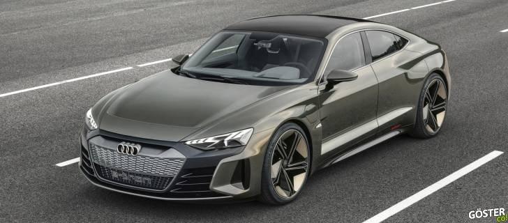 Audi'nin elektrikli konsept otomobili e-tron GT