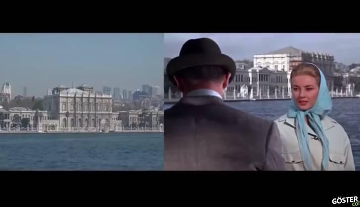 """""""Rusya'dan Sevgilerle"""" adlı 1963 yapımı James Bond filmindeki İstanbul sahnelerinin bugünkü halleri"""