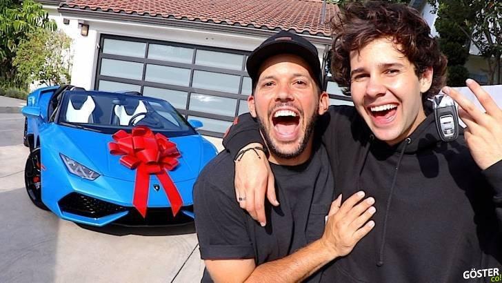 Electronic Arts ile iş birliği yapıp arkadaşına Lamborghini hediye eden YouTuber