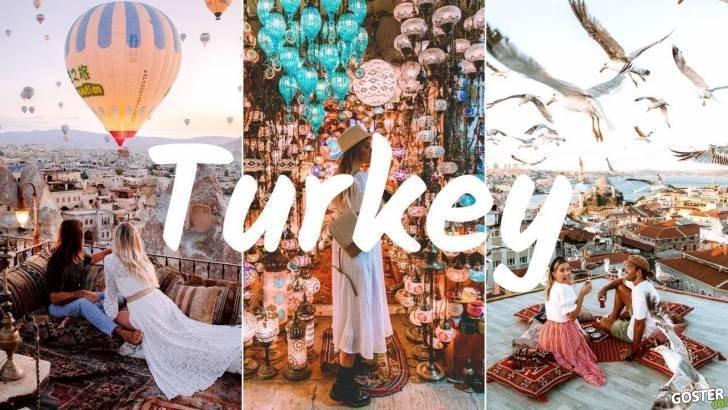 İstanbul ve Kapadokya'da gezen seyahat vloggerı yabancı çiftin Türkiye'yi tanıttıkları eğlenceli videosu