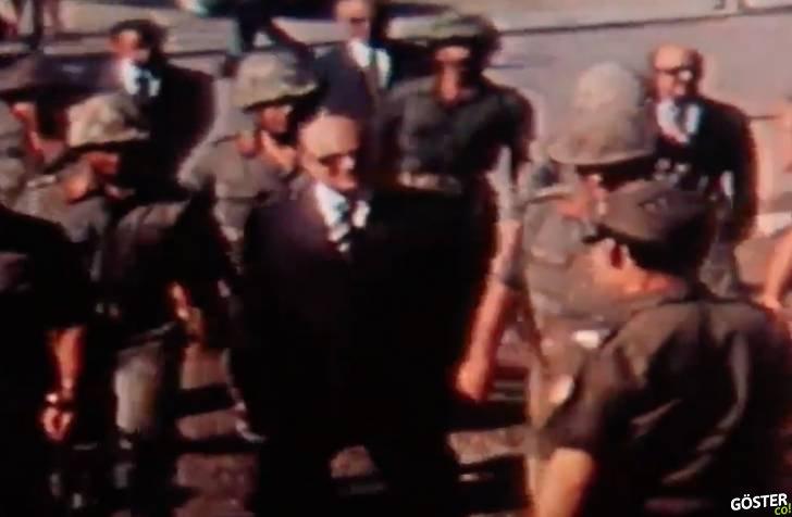 1974'te kaydedilmiş, Kıbrıs'taki ilk 30 Ağustos töreninden nadir görüntüler