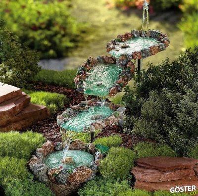 İleride bir gün belki benim de olur diyeceğiniz 12 yaratıcı bahçe dekorasyonu