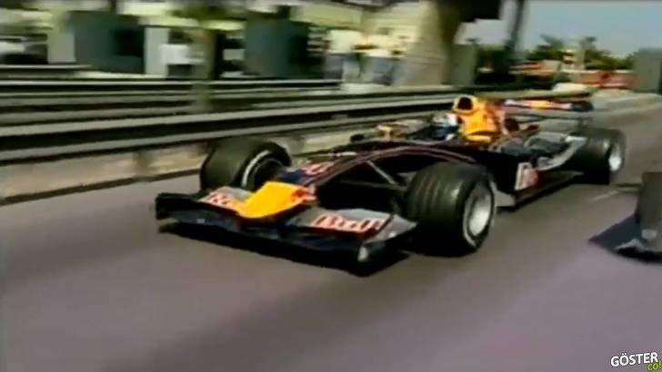 2005 yılında İstanbul'da fink atan Formula 1 aracı ve geçtiği rotalardan görüntüler