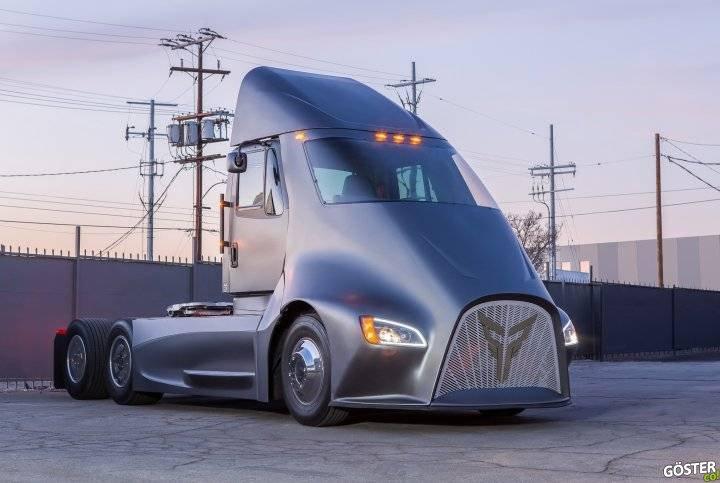Geleceğin kamyonları ve otobüsleri (7 havalı örnek)