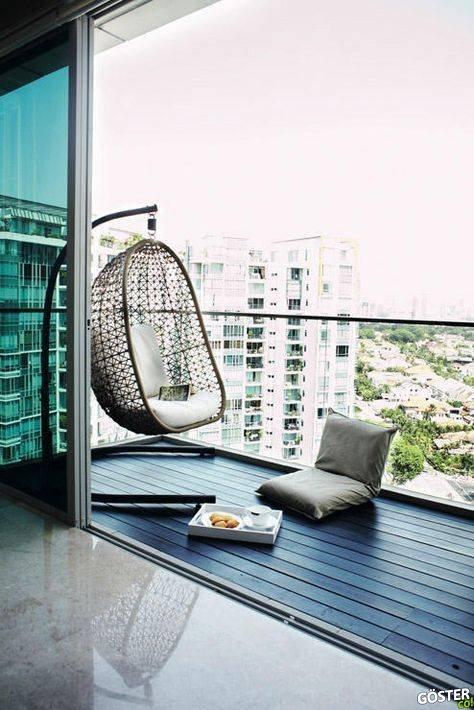 Küçük ve orta boy balkonunuz ya da devasa terasınız için ilham alabileceğiniz 27 dekorasyon