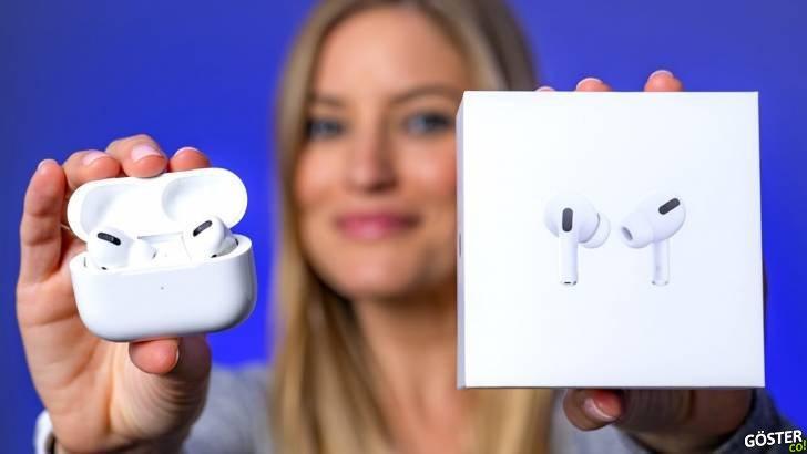 Apple'ın yeni kablosuz kulaklığı AirPods Pro'nun ilk kutu açma ve inceleme videoları yayınlandı