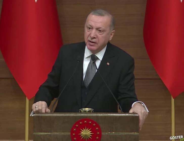 """Erdoğan: """"250 bin yeni Suriyeli mülteci sınırımıza doğru hareket halinde, bariyer oluşturamayız"""""""