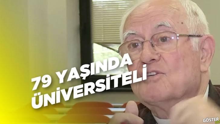 Kocaeli'deki 79 yaşındaki hukuk öğrencisi dede