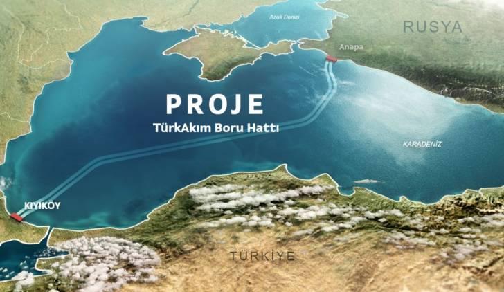 TürkAkım doğal gaz boru hattı açılış töreni: Erdoğan – Putin ortak töreni