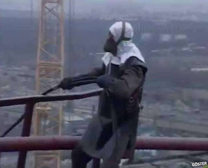 Çernobil bölgesinde kaydedilmiş yarım saatlik belgesel kıvamında korkunç görüntüler