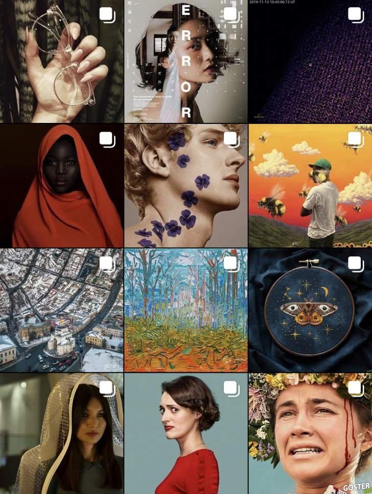 """Göster, Instagram'da: Anlık film, dizi, albüm tavsiyeleri, """"yalnızca"""" akışınızda görmekten keyif alacağınız görsellerle"""