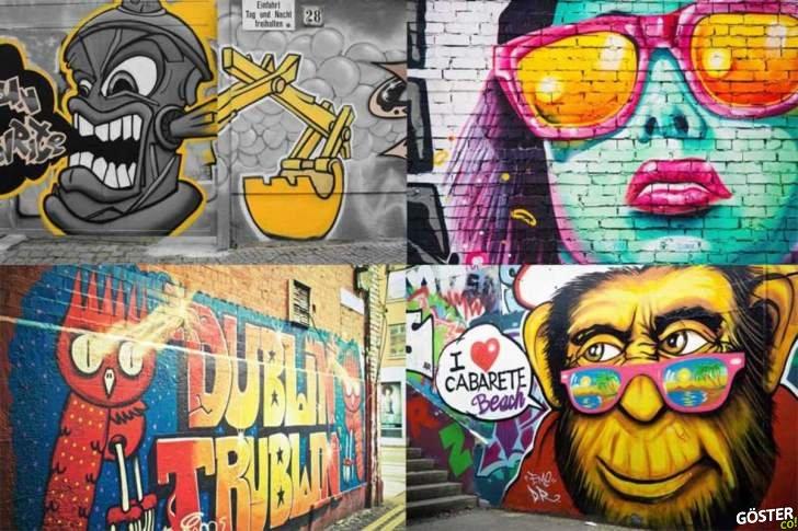Dünya genelindeki, legal grafiti yapabileceğiniz duvarların tam listesi