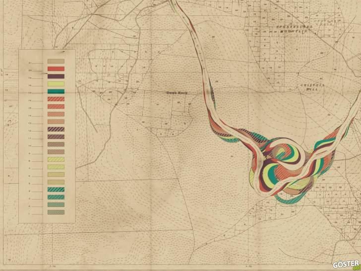 Buna bayılacaksınız: Hiç var olmayan nehirlerin tarihsel haritalarını oluşturmak için kullanılan prosedür sistemi (8 Harita)