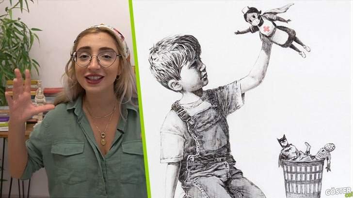 Kimdir bu, en son bir hastaneye bağışladığı çizim ile gündeme gelen Banksy?