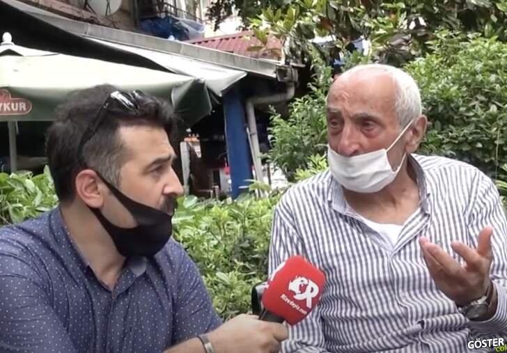 Rizelilerin maske ile imtihanı: Röportajı yapan bile maskeyi düzgün takmıyor 😂