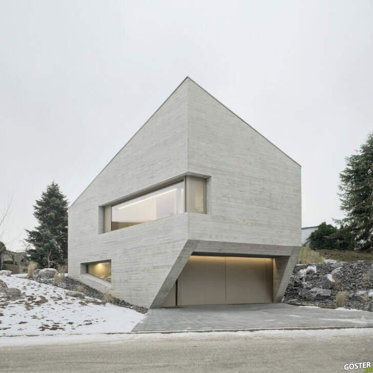 """Brütalist mimari eserler: Birbirinden etkileyici 51 düz """"beton"""" ev"""
