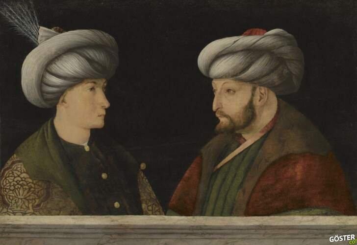 İBB, Londra'da bir müzayedede Fatih Sultan Mehmet'in portresini 6,5 milyon TL'ye satın aldı