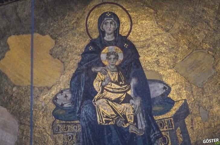 Ayasofya Camii'deki hangi mozaikler kapatılacak?