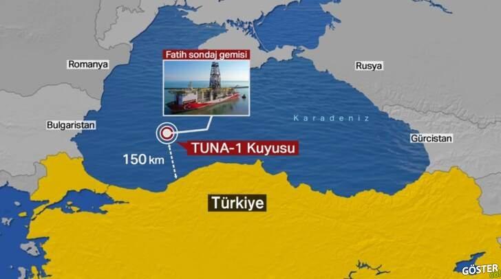 Cumhurbaşkanı Erdoğan 'müjde'yi açıkladı: Karadeniz'de 320 milyar metreküp doğalgaz keşfettik