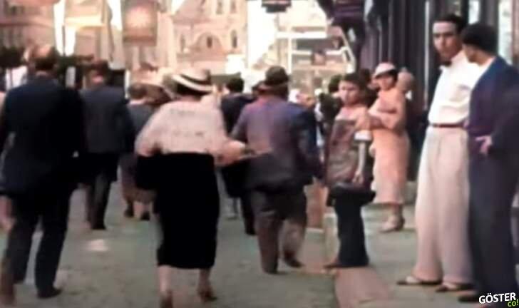 """1964 ABD yapımı """"Türkiye"""" adlı belgeselden kesilip renklendirilen görüntüler"""