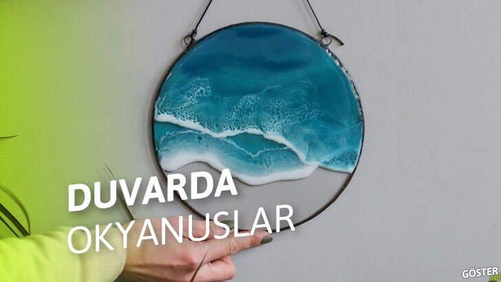 Anna Paschenko'nun bu duvar dekorları okyanusları evinize taşıyor