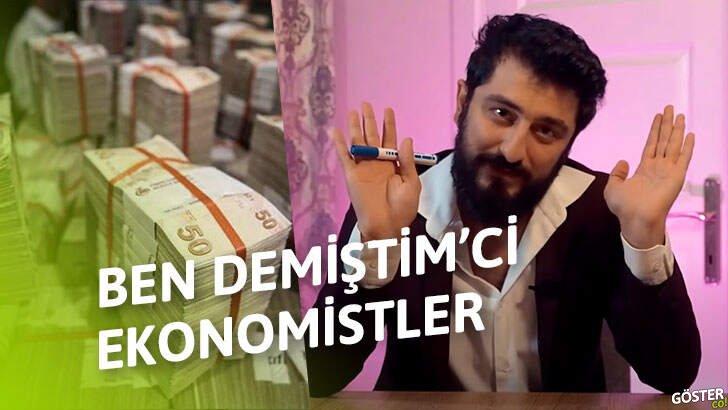 Çakma ekonomist YouTuberların trajikomik söylemlerinin çok başarılı bir taklidi