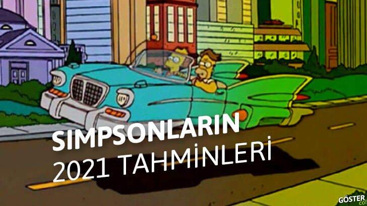 Geleceği tahmin ettiği iddia edilen Simpsonlar çizgi filminin çarpıcı 2021 tahminleri