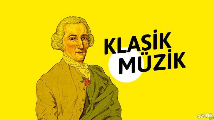 1700-1800 yıllarında müziğe yön veren ve sanıldığından çok daha fazla olan 'klasik dönem bestecileri'