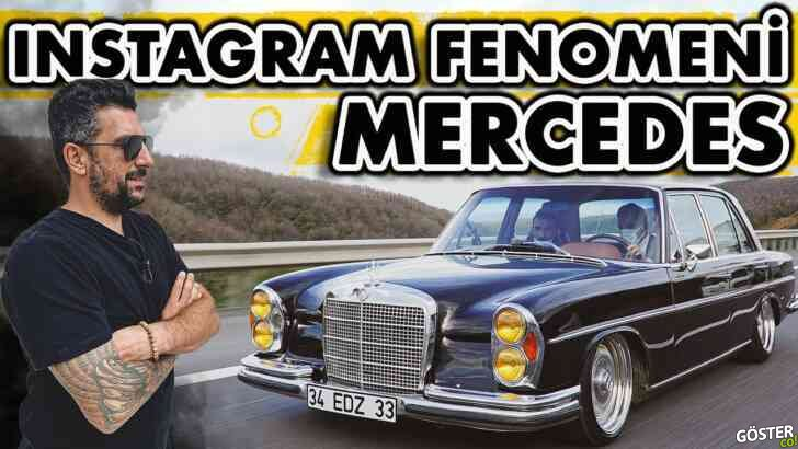 1970 model Mercedes'e 250 bin TL'lik restorasyon yapılırsa