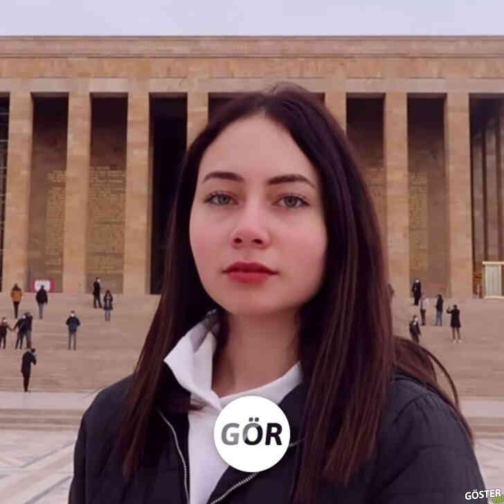 """Ankara'yı 1,5 dakikada özetleyen kız: """"94 saniyede yaşadığım şehir"""""""