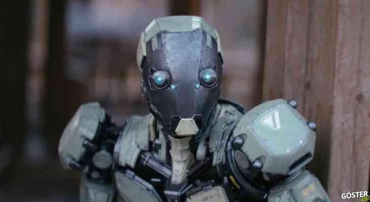İnşaat: İşe erken gelen robot, tanık oldukları nedeniyle mücadeleye mecbur kalırsa