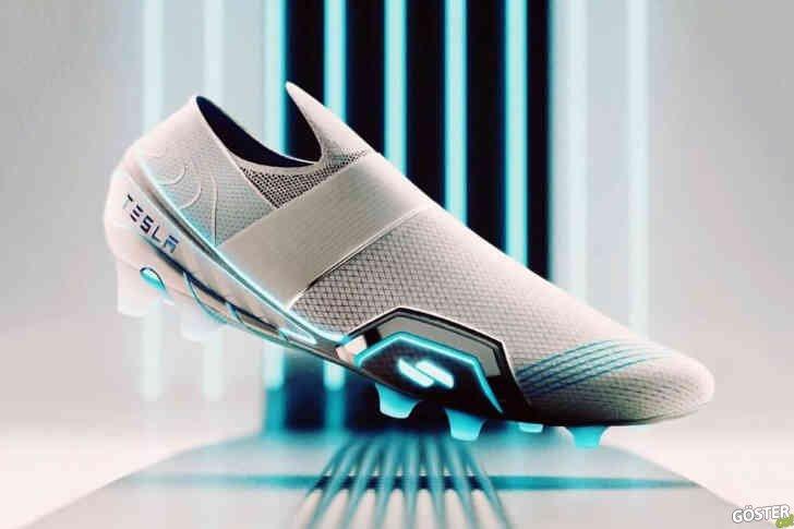 Eski Nike ve Adidas ayakkabı tasarımcısı 'elektrikli' Tesla kramponu tasarladı