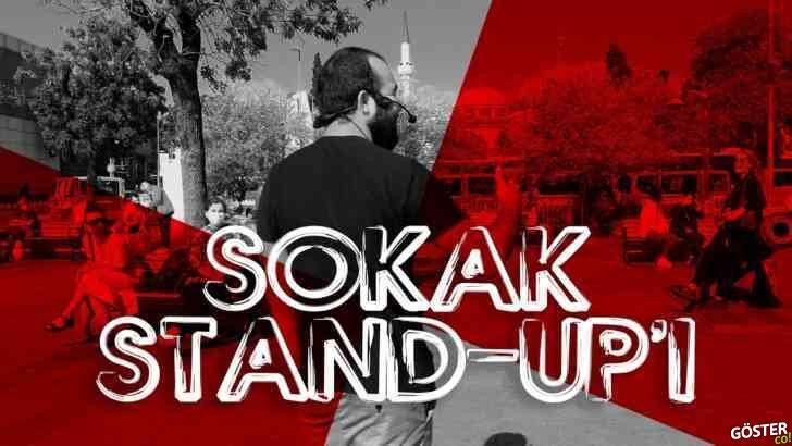 Komedyen Oktay Şenol'dan sokak stand-up'ı