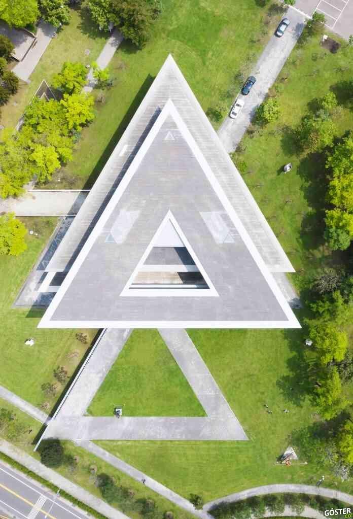 Taichung şehrinin 18 harika kentsel geometrik şekli