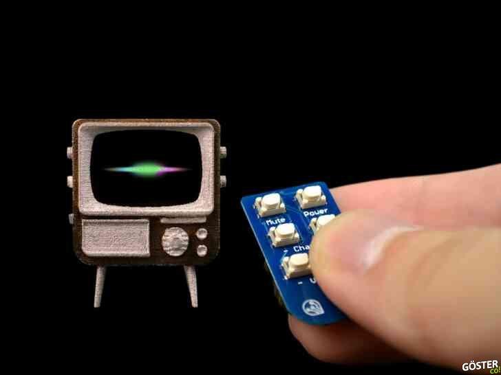 TinyTV DIY kiti, kendi küçük çalışan televizyonunuzu yapmanızı sağlıyor