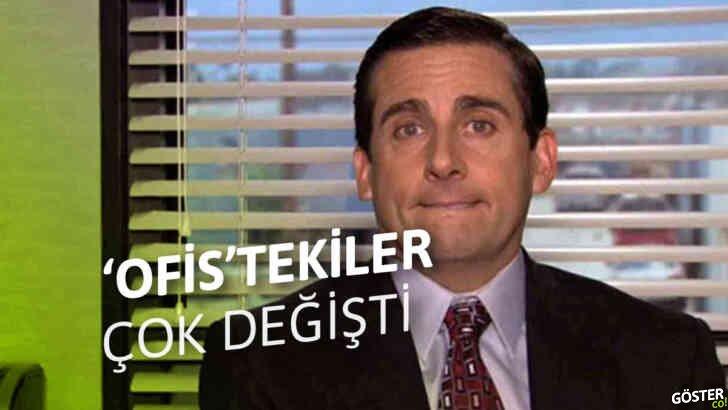 Ofis dizisinin 19 oyuncusunun, ilk bölüm, son bölüm ve bugünkü halleri