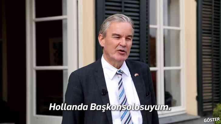 Hollanda İstanbul Başkonsolosu Bart van Bolhuis'in, İstiklal Caddesi'nde çektiği vlog