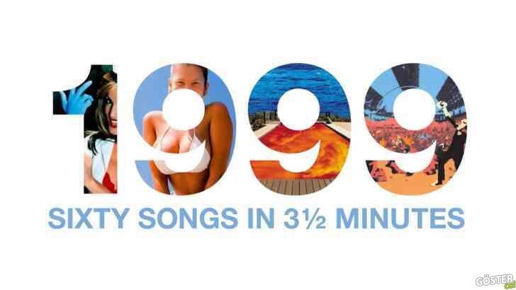 1999 yılından 60 şarkı 3,5 dakikalık bu remix ile bir araya getirildi