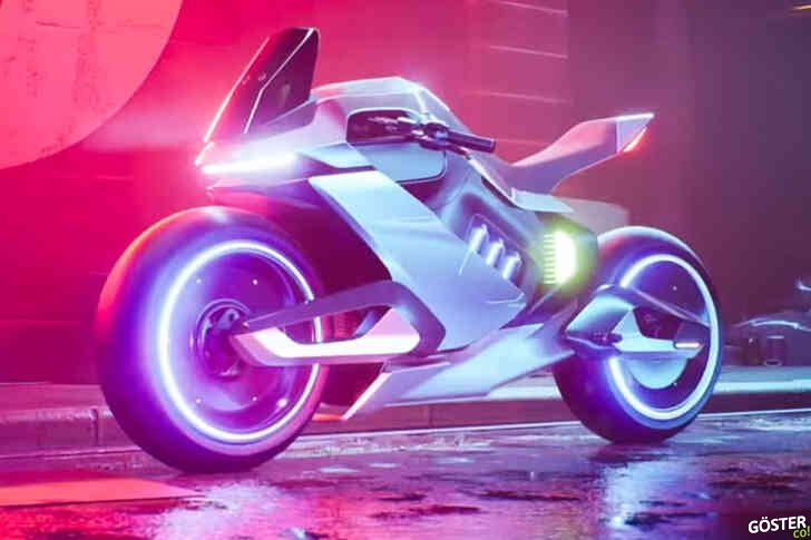 Segway'den hidrojen elektrikli hibrit bisiklet: Adeta tombul bir Tron motorsikleti