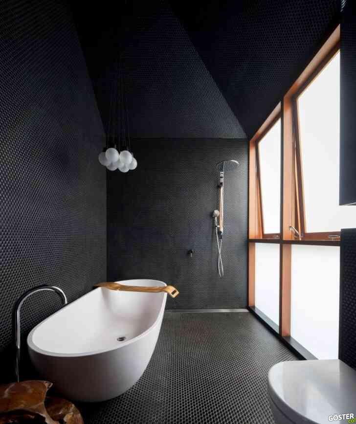Spa hissi veren 12 modern banyo tasarımı