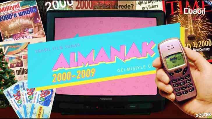 Bu 2 saatlik kısa belgesel ile 2000-2009 yılları arasında Türkiye'de ve Dünya'da olan tüm önemli olayları hatırlayın
