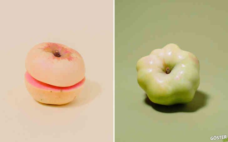 Garip Elmalar: Bu fotoğraf kitabı, sadece garip ve büyüleyici elmaları gösteriyor