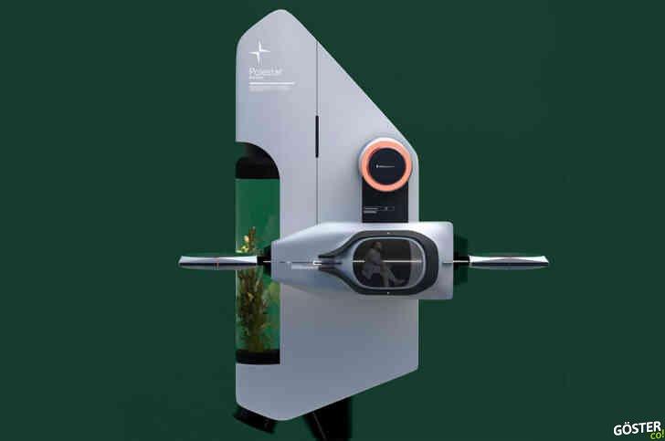 Polestar'dan ilham alan, ormansızlaşma sorununa dikkat çeken drone tasarımı: Yerleşik bir serası da var