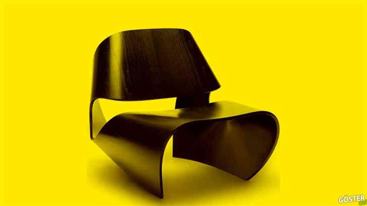 Brodie Neill'den 'Cowrie' sandalye: Tek parça, ergonomik