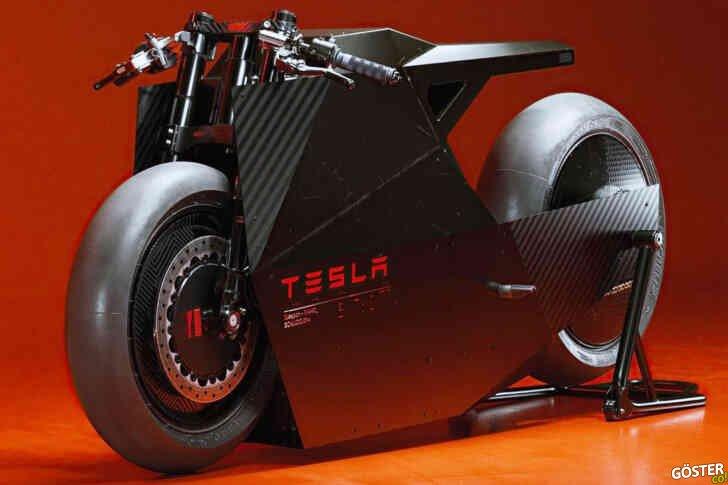Konsept Tesla elektrikli bisiklet: Çerçevesi, sürüş koşullarına bağlı olarak şekil değiştiriyor