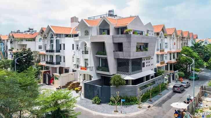 Vietnam'da bir banliyö bloğu: Şehrin ortasında yeşillere boğulmuş harika bir ev